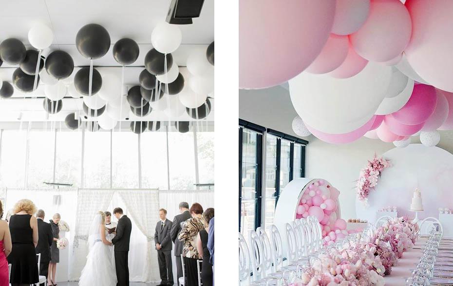 Poważne Dekoracje z balonów MW51
