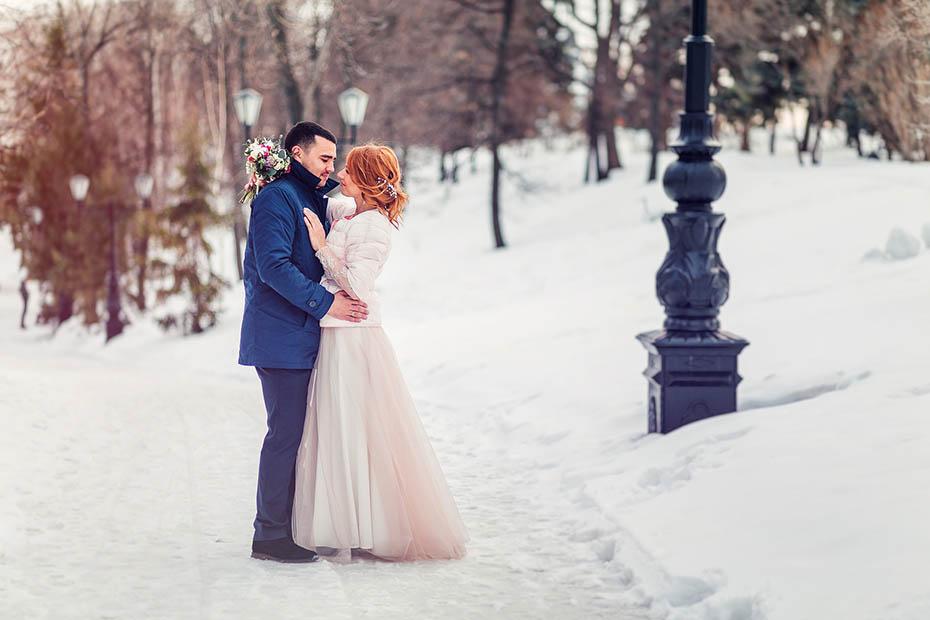 Stylizacja Na ślub Zimą